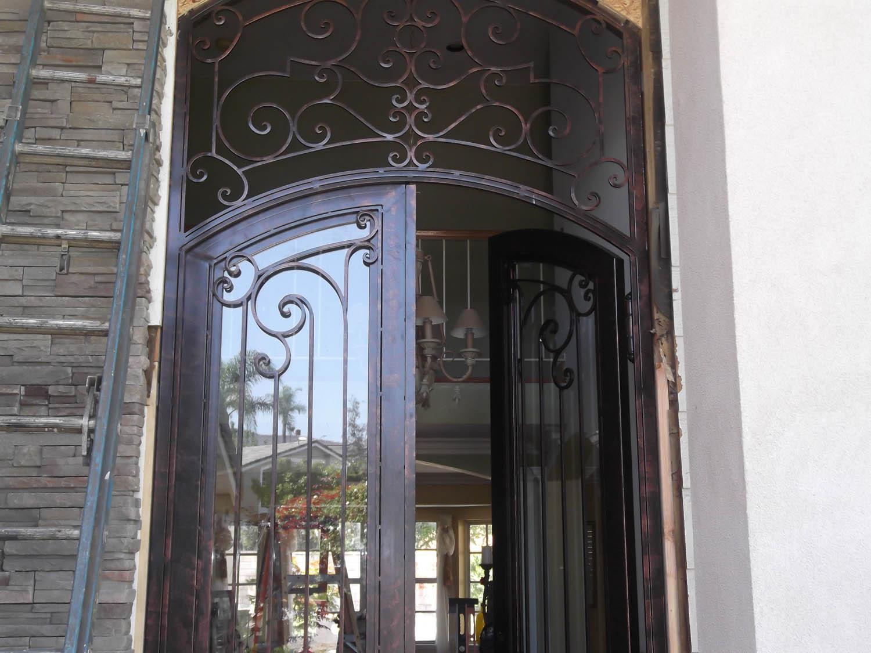 3216 #7E6A4D Main Entry Doors Jimenez Iron Works Fullerton California wallpaper Main Entry Doors 40054288
